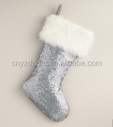 Wholesale Mermaid Sequin Christmas Sock/2018 Hot Sale Mermaid ...