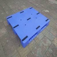 High quality heavy duty large stackable single sides HDPE plastic pallet for sale