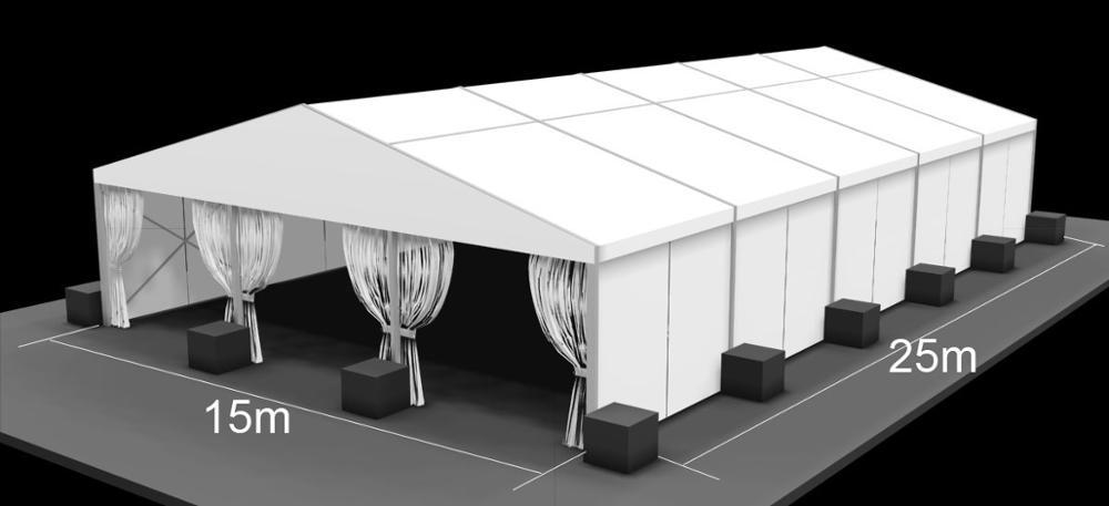 2016 New Design 200 People Garden Marquee Weddings