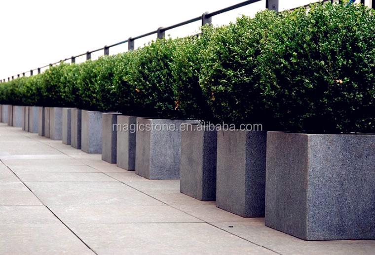Plant Pots For Sale Part - 42: Artificial Stone Rectangle Flower Pots For Sale