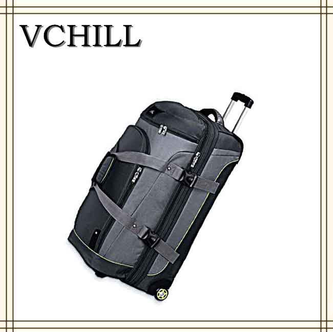 new style weekend duffel travel rolling bags