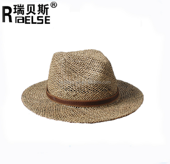 b221271d352 Custom Sea Grass Straw Hat Belt Bands Straw Panama Hat - Buy Sea ...