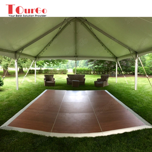 Tourgo Pvc Portable Wooden Diy Dance Floor On Glass For Outdoor Party