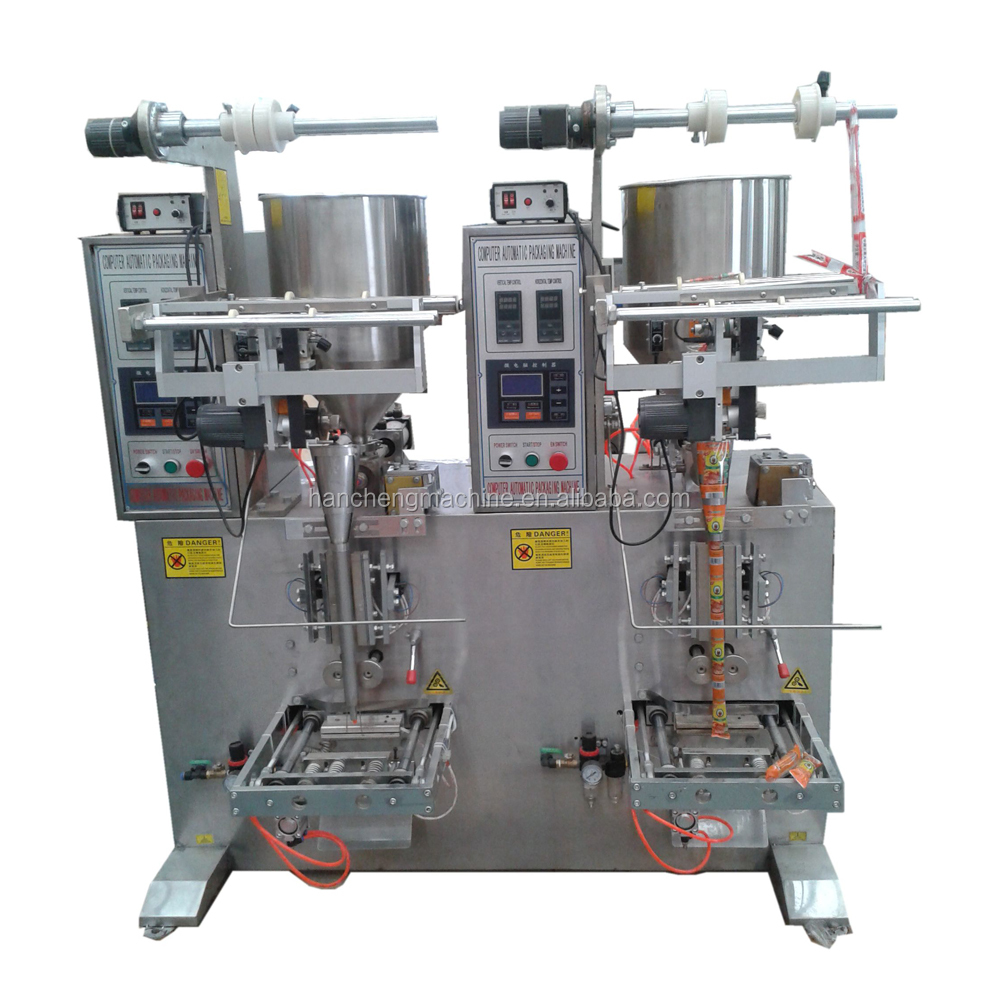 2 Lines Automatic Tomato Sauce Sachet Packing Machine