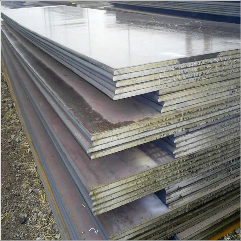 hot rolled mild carbon steel plate with garde S235J2+N steel sheet for project material