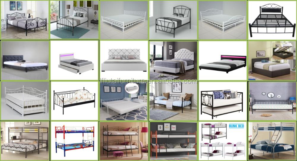 Modern metal divan bed 2017 latest fashion metal divan bed buy latest metal bed designs cheap for Cheap double divan beds for sale