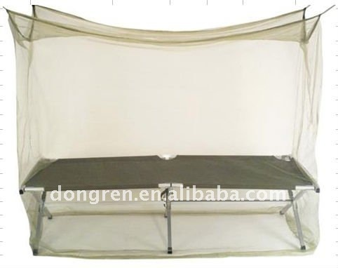 Folding green army mosquito nets export to Iraq/Malaysia/Africa