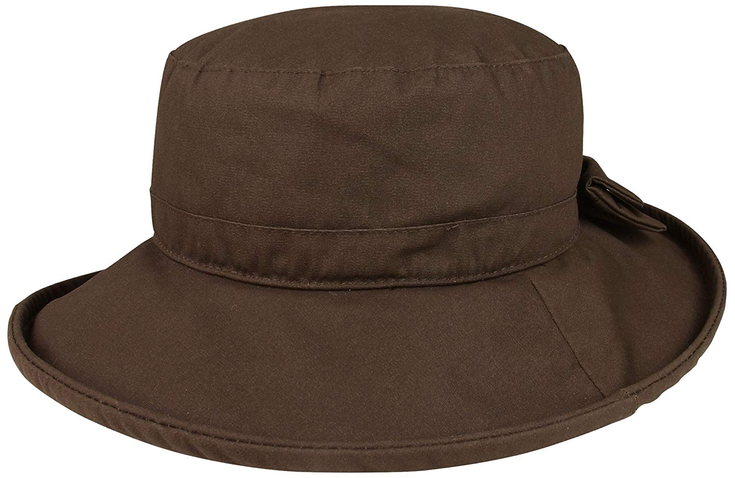 bae7de1e7ad505 Get Quotations · Juniper Women's Waxed Cotton Canvas Wide Brim Bucket Hat