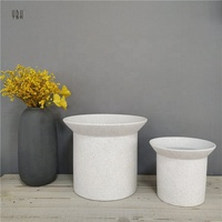 Simplism nordic style wholesale home goods bonsai pots / decorating white ceramic pot for indoor plants