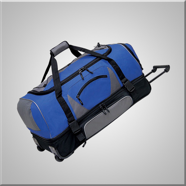 "Chaumetbags Club Luggage Adventure 36"" 2-Section Drop Bottom Rolling Duffel"