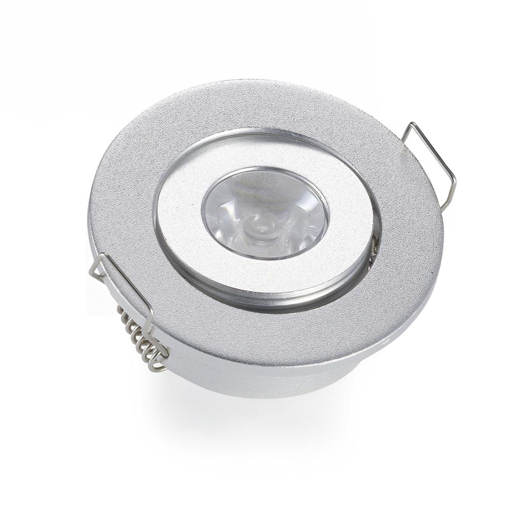 40mm cut loch deckeneinbau spot lichter silber 3 watt kleine unten lichter runde led downlights. Black Bedroom Furniture Sets. Home Design Ideas