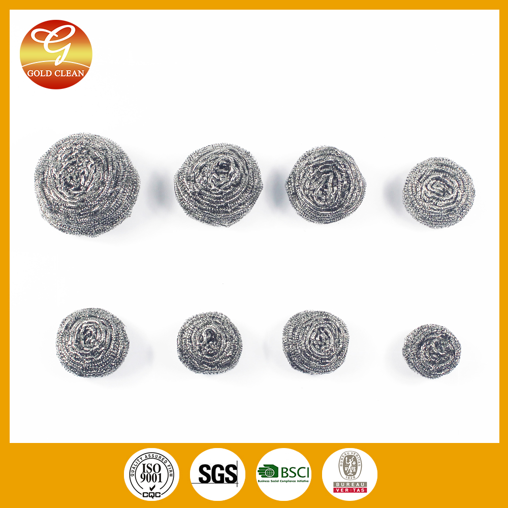 kitchen cleaning 20g stainless steel AISI410 pot scourer