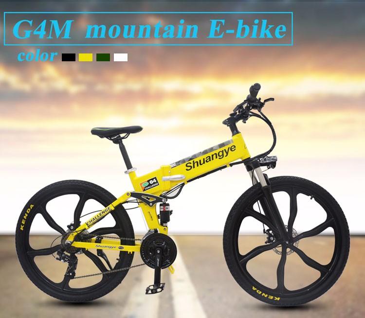OEM Manufacturer wholesale 36v 350w motor folding electric bicycle