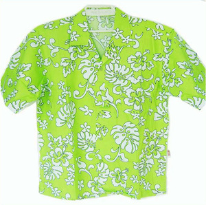 couple shirts in holiday, OEM cotton shirts, cocanut printed shirts