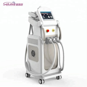 Germany imported xenon lamp permanent SHR + IPL +E-light hair removal machine price