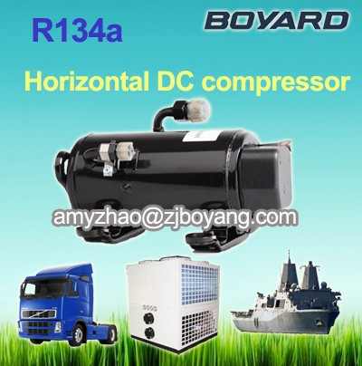 Aircrafts Army Crans cooling system with boyard 24v compressor auto ac