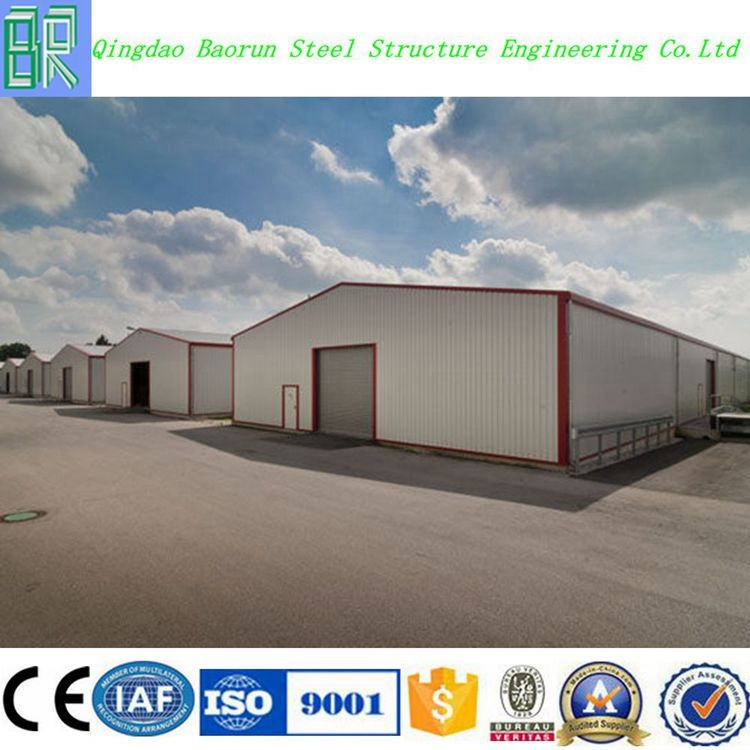 Fast installed customized prefabricated workshop