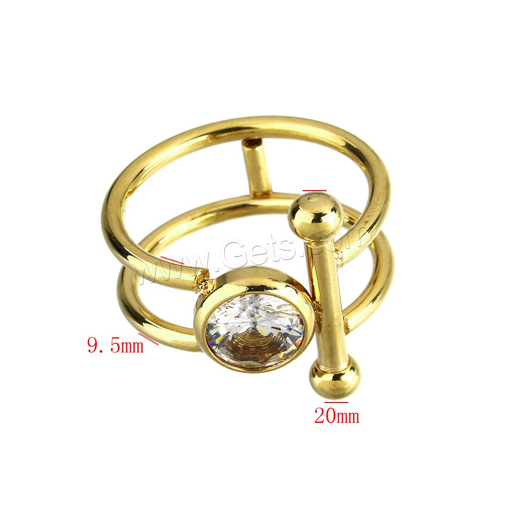 gold rings designs for ladies pictures Cubic Zirconia Stainless Steel Finger Ring gold color plated for woman US Ring Size:8