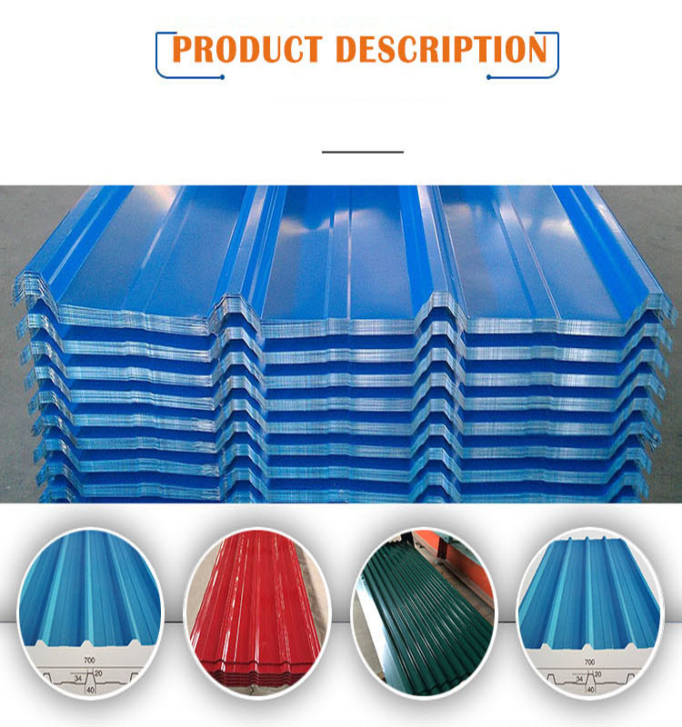 Suorong Zinc Red Color Coated Galvanized Corrugated Roof