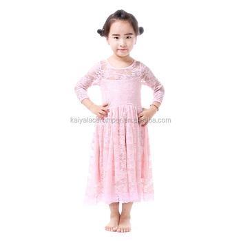 Kleines Mädchen Kleider Rosa Spitze Vintage Kleid Hohe Qualität Baby ...