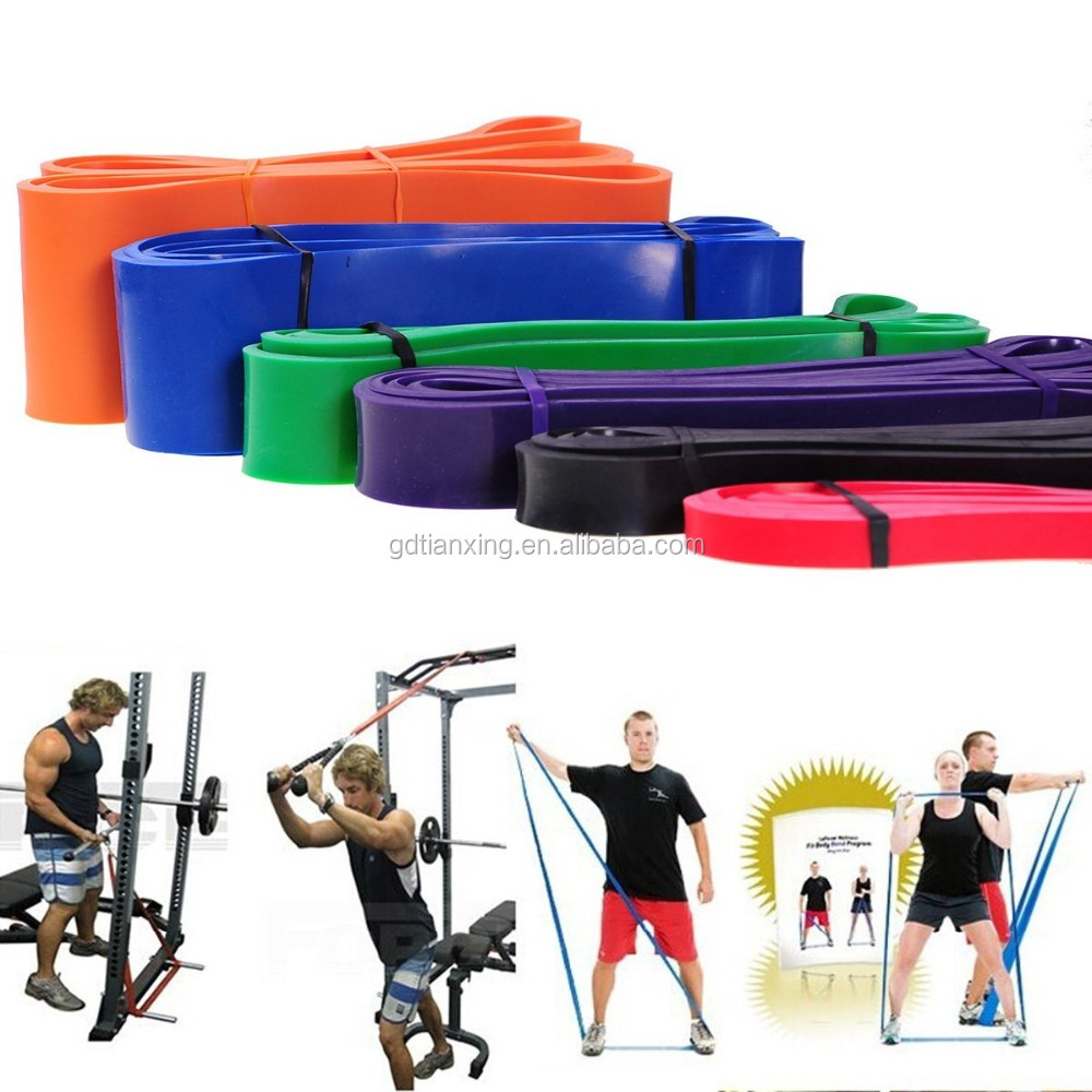 Wholesale Fitness Supply Chest Expander Puller Training Power Resistance Loop Rubber Band