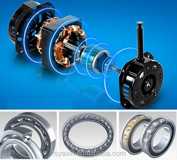 Desk Fan Motor Aluminum Wire Small Motor For Desk Fan With