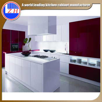 India Paint Colors Melamine MDF Plywood Modular Kitchens Cabinets Laminate  Combinations