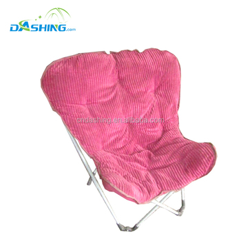 Comfortable Folding Metal Frame Butterfly Chair