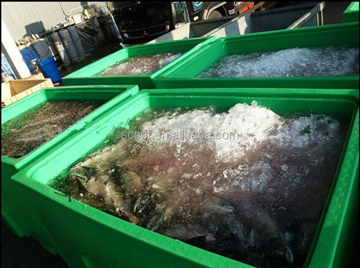 Aquaculture transport plastic container fish storage tub for How to make ice in a fish tank