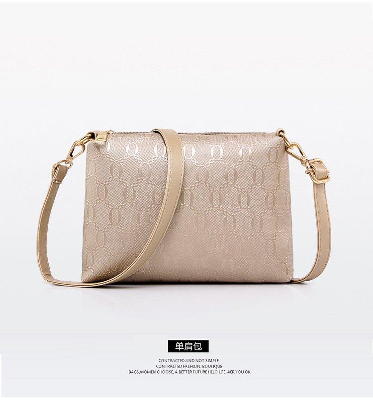 de99736b10 G-040 Hot sale unique style golden women handbags sets fashion 6pcs one set  tote