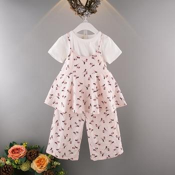 dc1860f184a Онлайн Горячая Распродажа детские летние хлопковые комплекты одежды для  девочек оптовая продажа одежды
