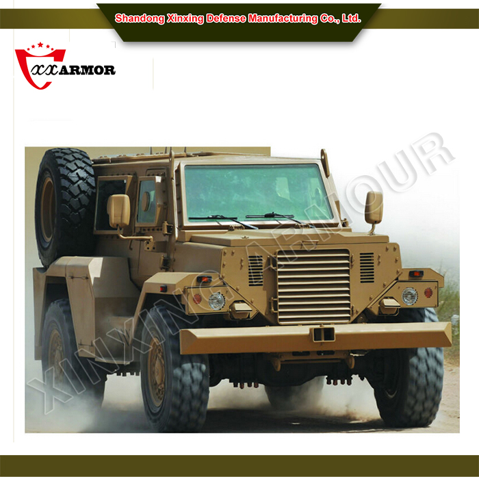 New off road military vehicle / bullet proof car
