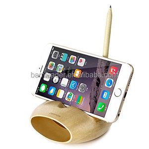 Bamboo Cell Phone Sound Amplifier Lounder Speaker Stand