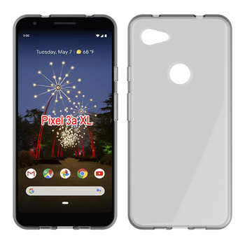 Transparent ultra clear tpu case for Google Pixel 3a XL soft back cover
