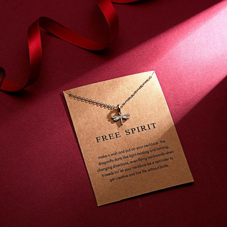 Großhandel beliebtesten glück beste wünsche gold überzogene schmuck anhänger schlüsselbein kette halsketten