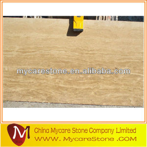 travertine slab yellow travertine block