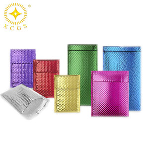 2018 Colorful metalized foil insulation metallic bubble mailer