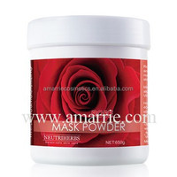 Spa &Salon Wholesale high quality rose nourishing and skin whitening powder