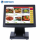 OEM POS Computer 15 inch Touch Screen All in One Restaurant Cash Register