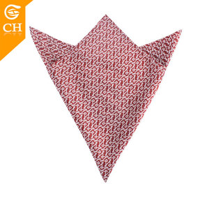 Chinese Providers Novelty Design Silk Pocket Square Big Handkerchief 55*55cm