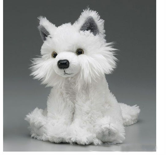 White Wolf Plush Toy Custom Plush Toys Arctic Wolf Toys Buy White