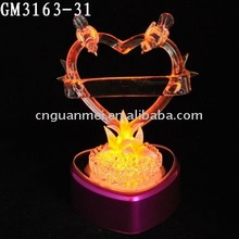valentine's day love gift heart-shaped LED light decoration