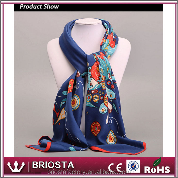 Wholesale Fashion Women Decoration Sceawl Silk Scraf