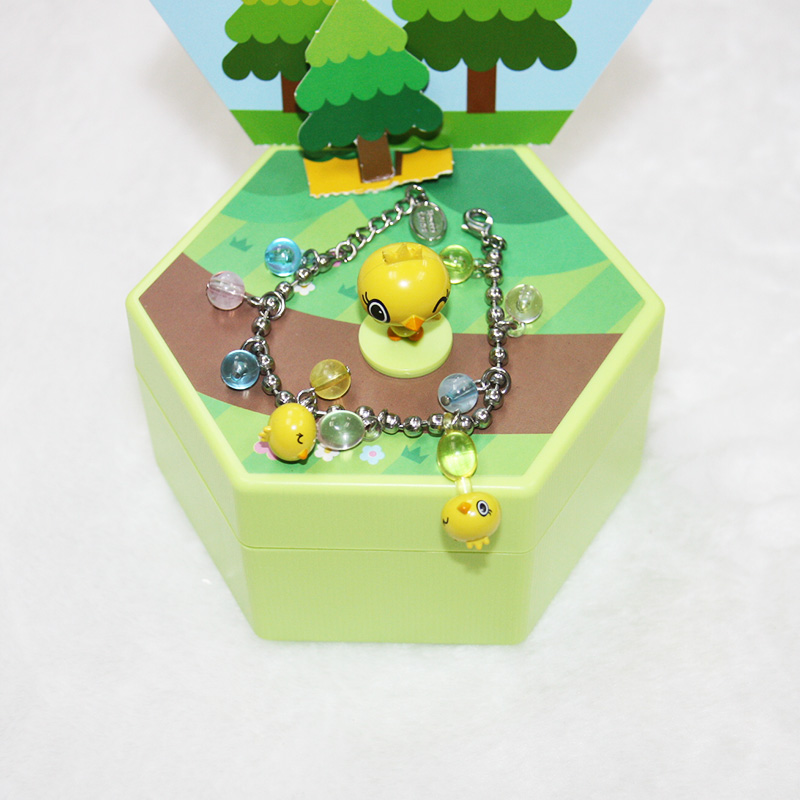 Customized Blind Box Kids Toys Collections Toys Handmade Plastic Bracelet
