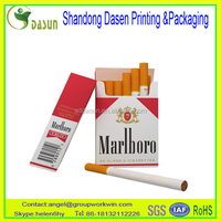high-end cigarette paper box packing cheap wholesale