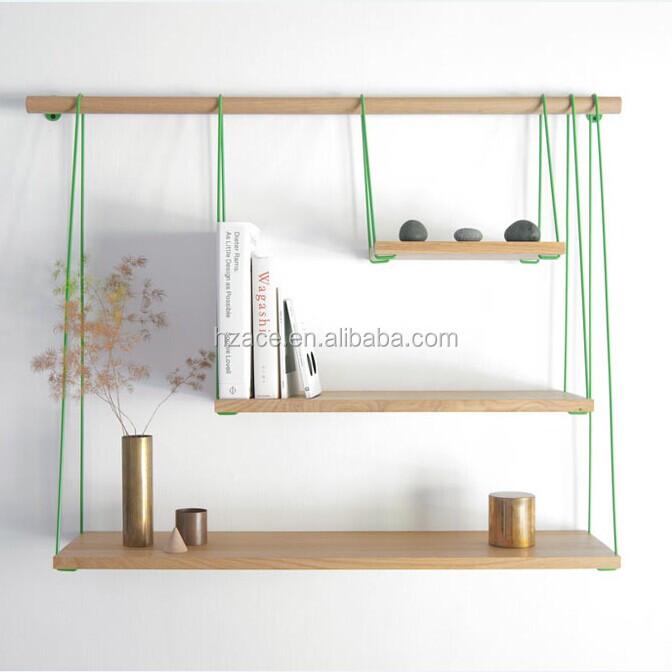 tag re en bois avec une corde etag res de supermarch s id. Black Bedroom Furniture Sets. Home Design Ideas