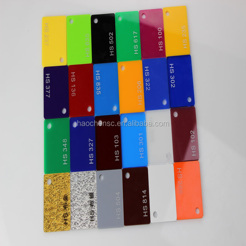 acrylic hard coating pmma/acrylic sheets