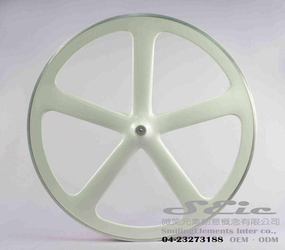 Fiber glass 5 spoke wheels