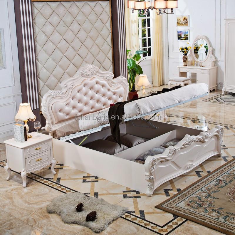 Bianco romantico di archiviazione ad alta francese mobili classici ...