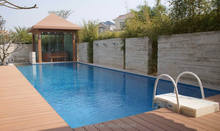 New TOP Selling Solid decking Wood Plastic Composite WPC